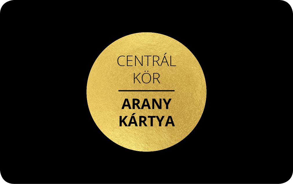 Centrál Kör Arany Kártya