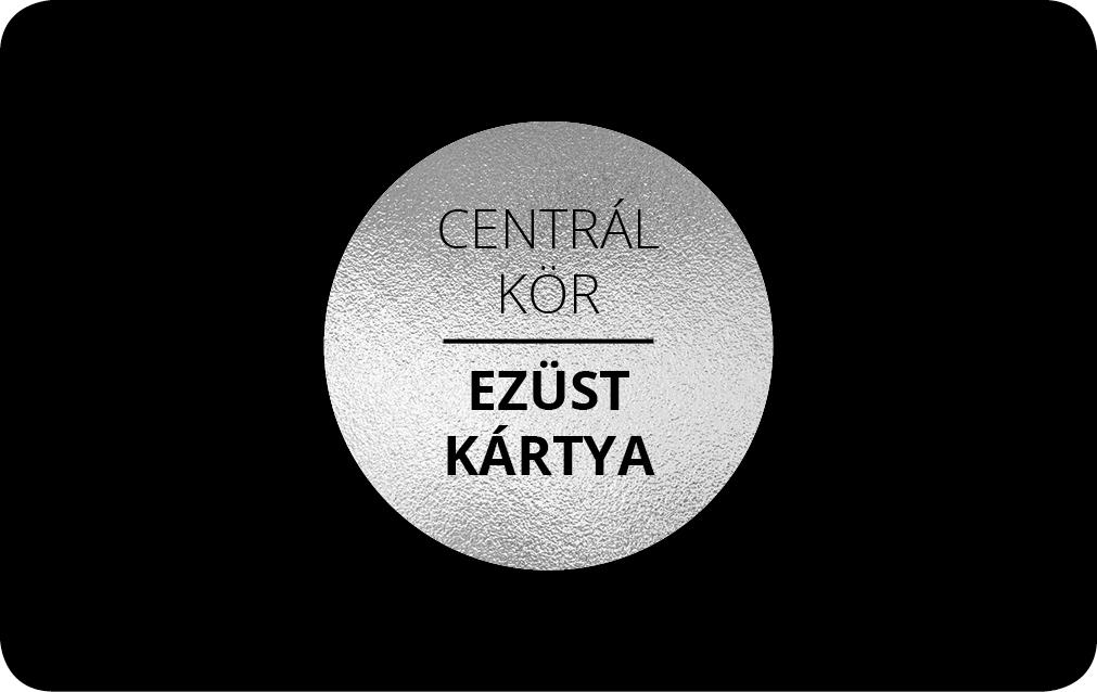 Centrál Kör Ezüst Kártya