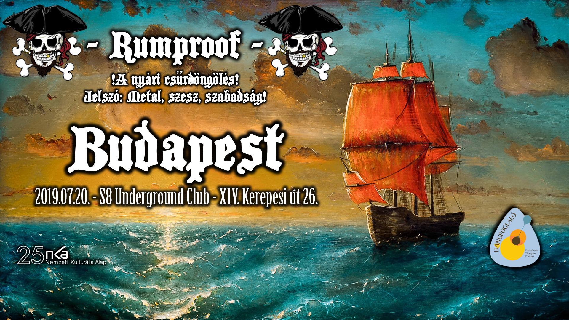 A nyári csűrdöngölés - S8 Underground Club I Rumproof