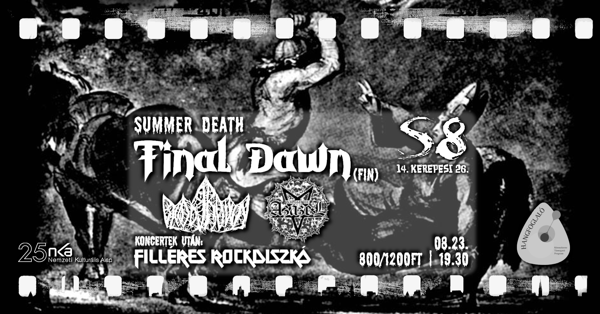 Summer Death - Final Dawn [FIN] I Wrath of Azazel I Bloodcrown