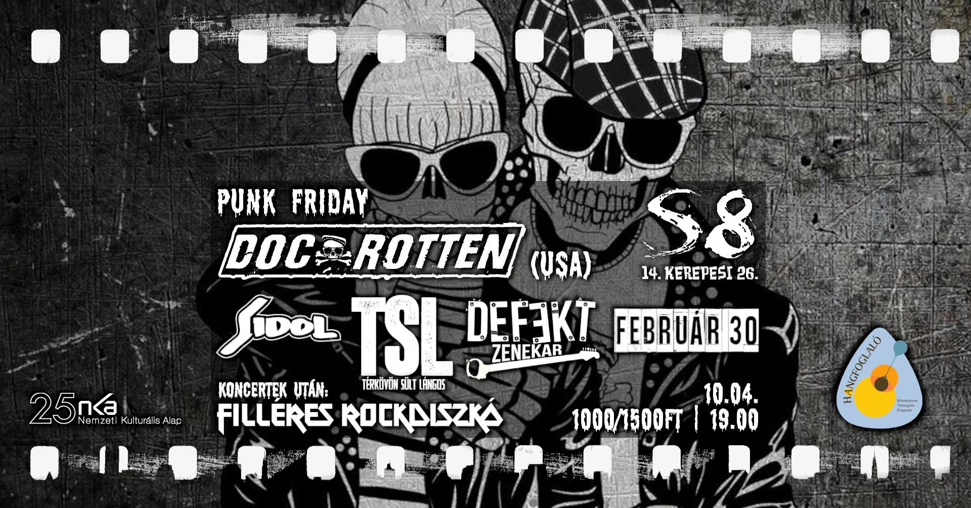 Punk Friday - S8 I Doc Rotten [USA]