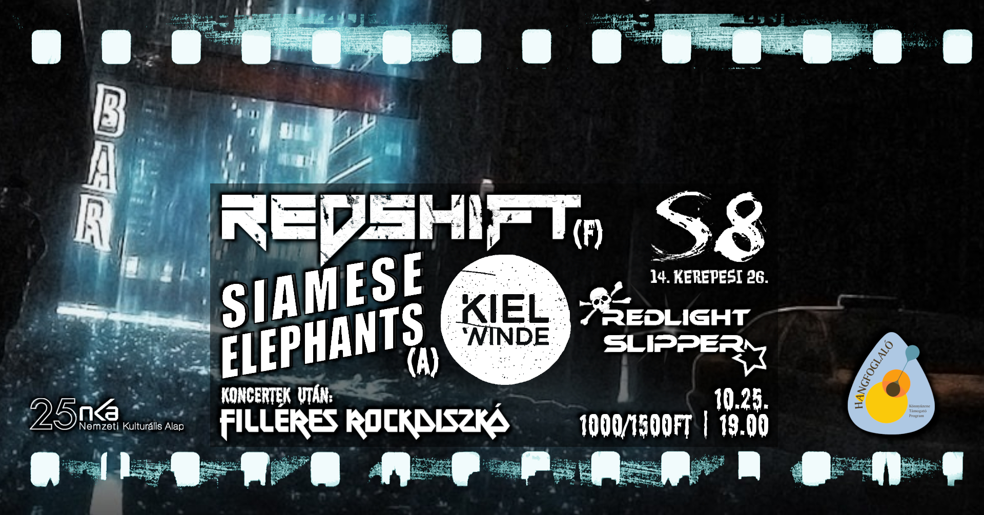 Redshift [F] I Siamese Elephants [A] I Redlight Slipper I Kiel Wind