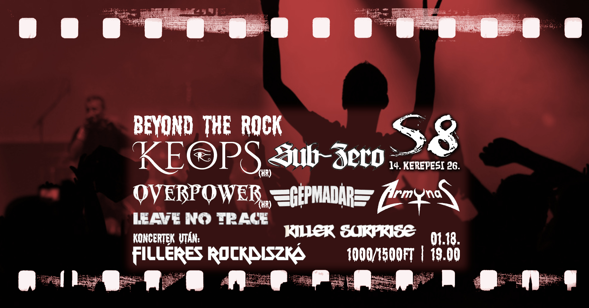Beyond The Rock - Keops [HR] I Overpower [HR] I +Zenekarok
