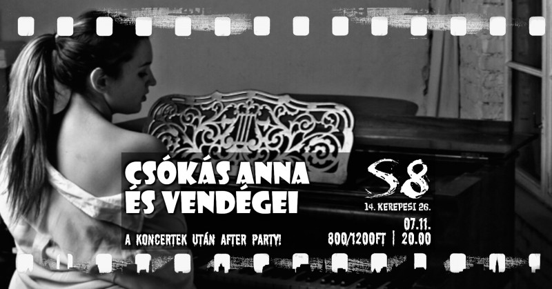 Csókás Anna és Vendégei I After Party (07.11.)