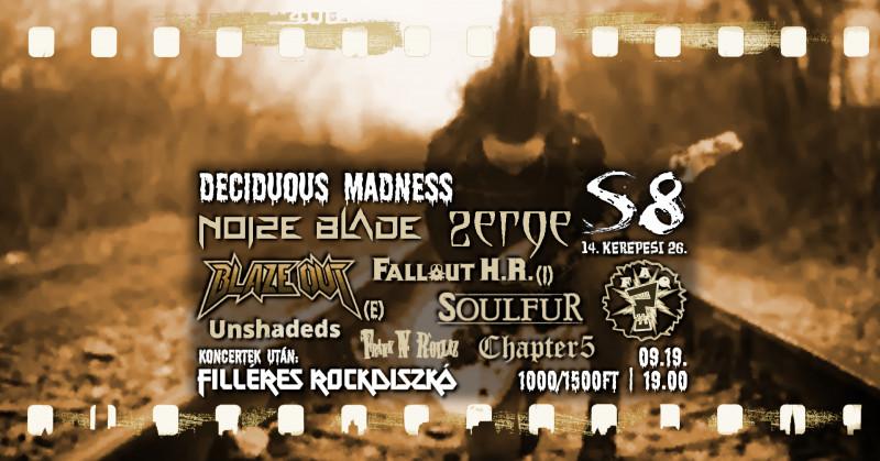 Deciduous Madness - Noize Blade I Soulfur I Frank'n'rollaz I Zerge