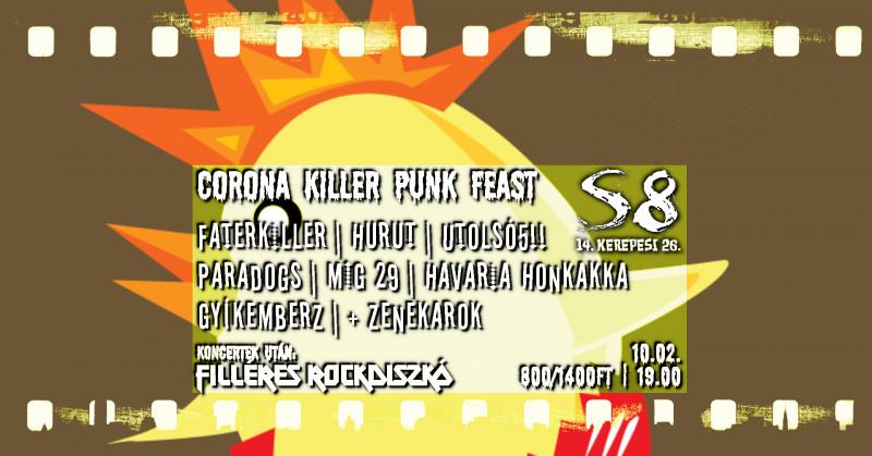 Corona Killer Punk Feast