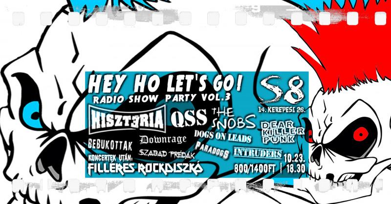 Hey Ho Let's Go! I Radio Show Party vol.3 - S8 Underground Club