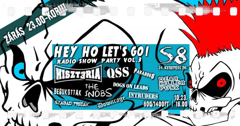 Hey Ho Let's Go! I Radio Show Party vol.3