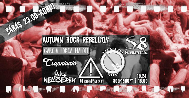 Autumn Rock Rebellion