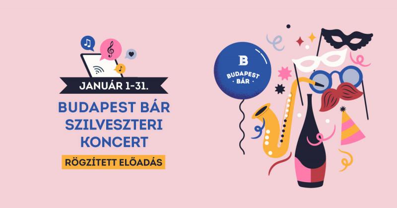 BUDAPEST BÁR SZILVESZTER (rögzített előadás) // TRIP WebSzínház