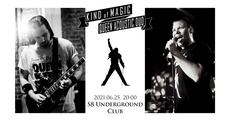 Kind Of Magic Queen Acoustic Duo