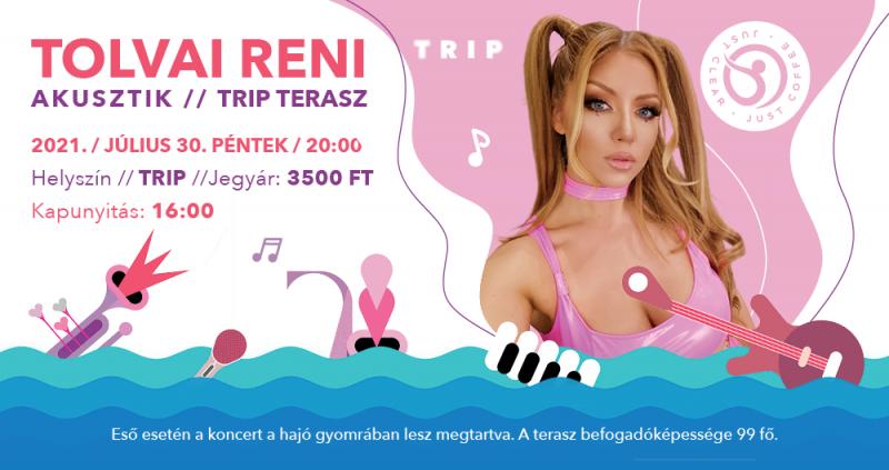 Tolvai Reni akusztik // TRIP Terasz