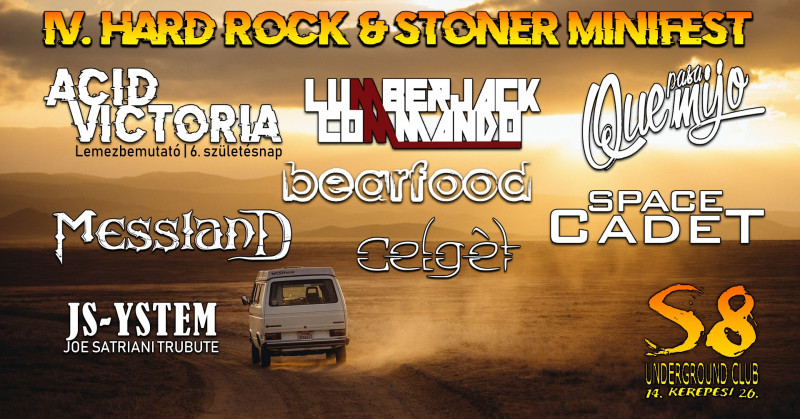 IV. Hard Rock & Stoner Feszt