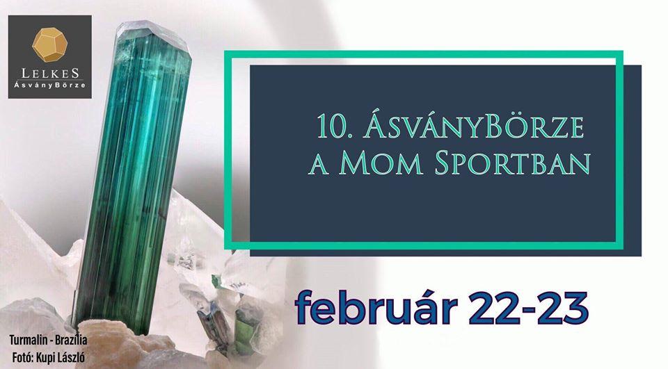 10. Lelkes ÁsványBörze a MoM Sportban (Február 22, szombat)