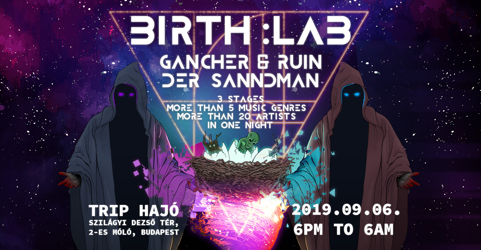 Col:lab pres.: BIRTH:Lab w/ Gancher&Ruin and Der Sandmann