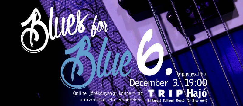Blues For Blue Jótékonysági Koncert az Autizmussal Élőkért