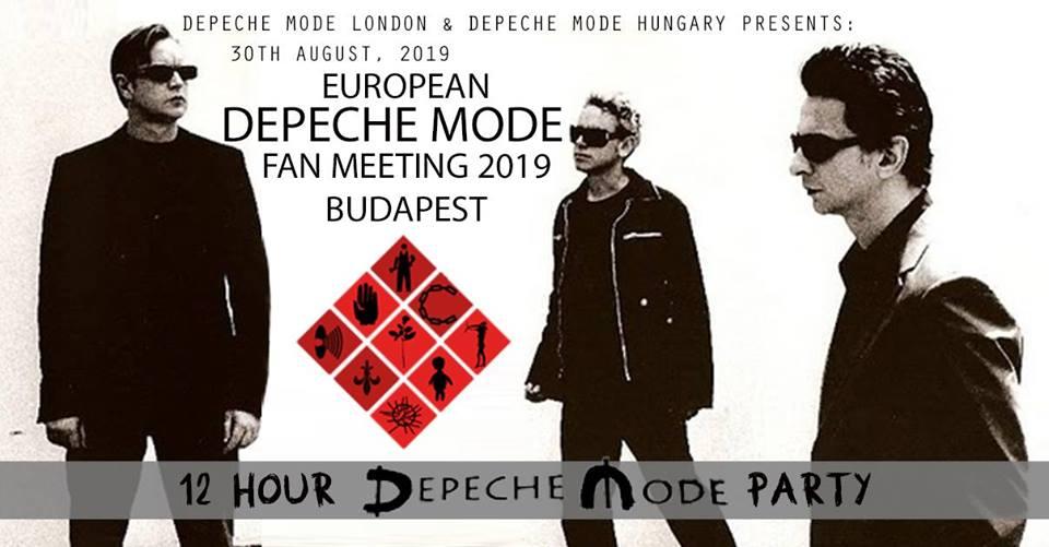 12 órás Depeche Mode rajongói találkozó 2019