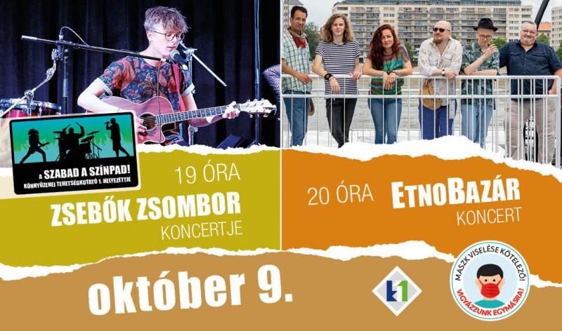 Zsebők Zsombor és EtnoBazár koncert