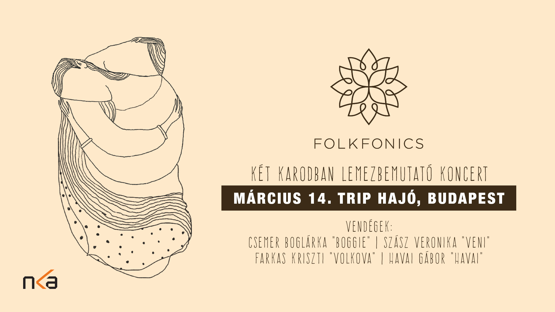 Folkfonics: Két karodban lemezbemutató koncert