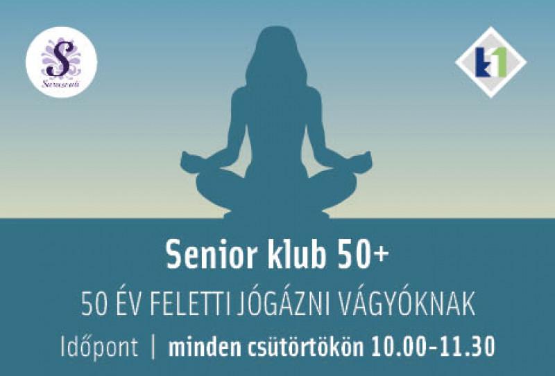 Senior 50+ klub - jóga