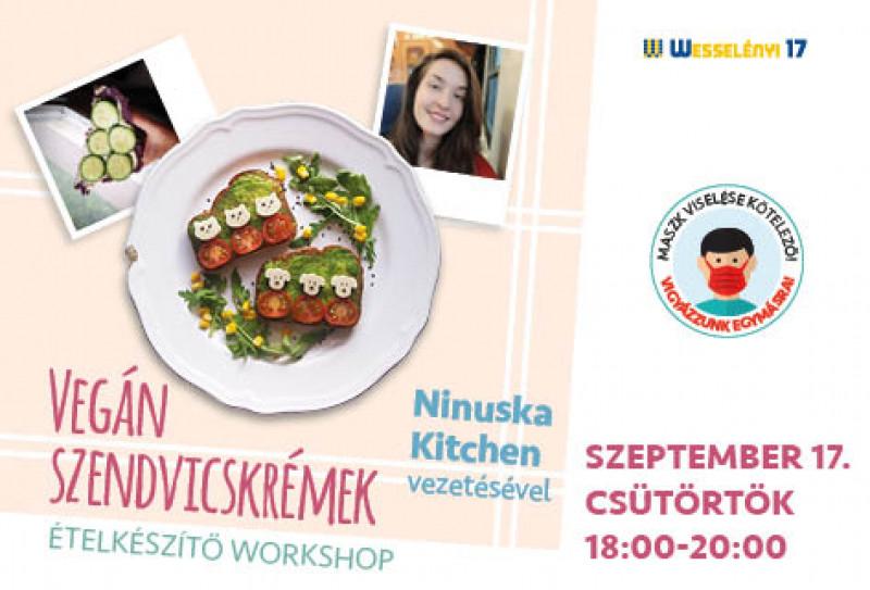 Vegán szendvicskrémek- ételkészítő workshop