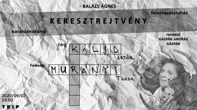 Karanténdráma extra // Balázs Ágnes: Keresztrejtvény