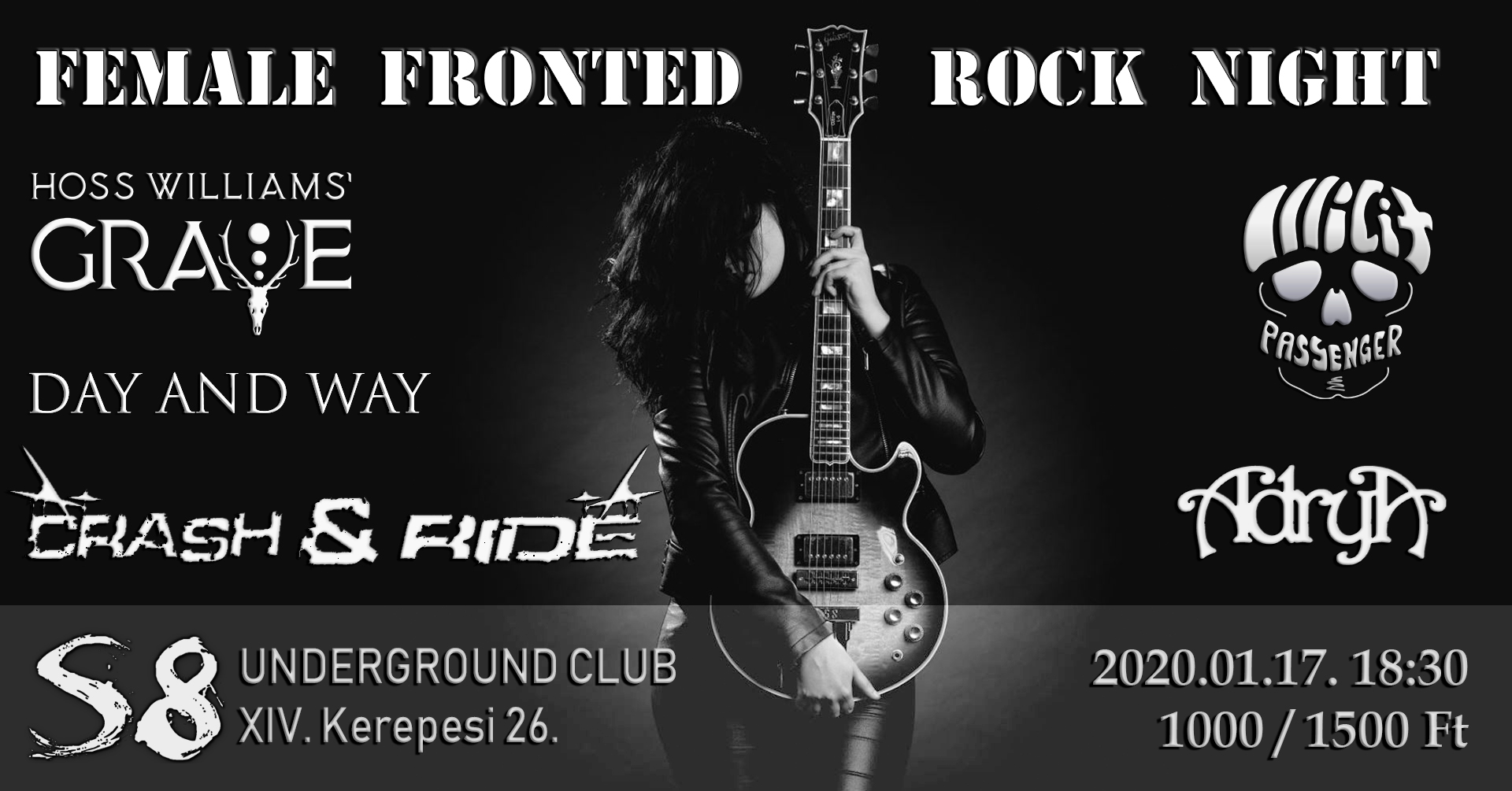 Female Fronted Rock Night