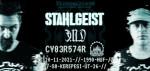 NecrogenesiS pres.: STAHLGEIST + Ǝ.N.D live + CY83R574R dj set (DLI)