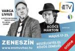ZENESZÍN - Varga Livius vendége Agócs Márton