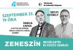Zeneszín - Varga Livius vendége Hegyi György