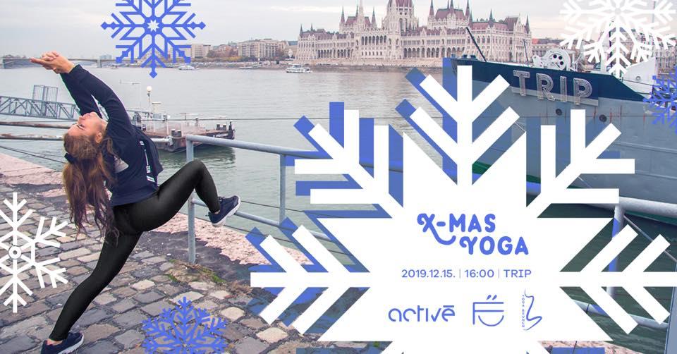 Xmas Yoga – jótékonysági jóga a Dunán